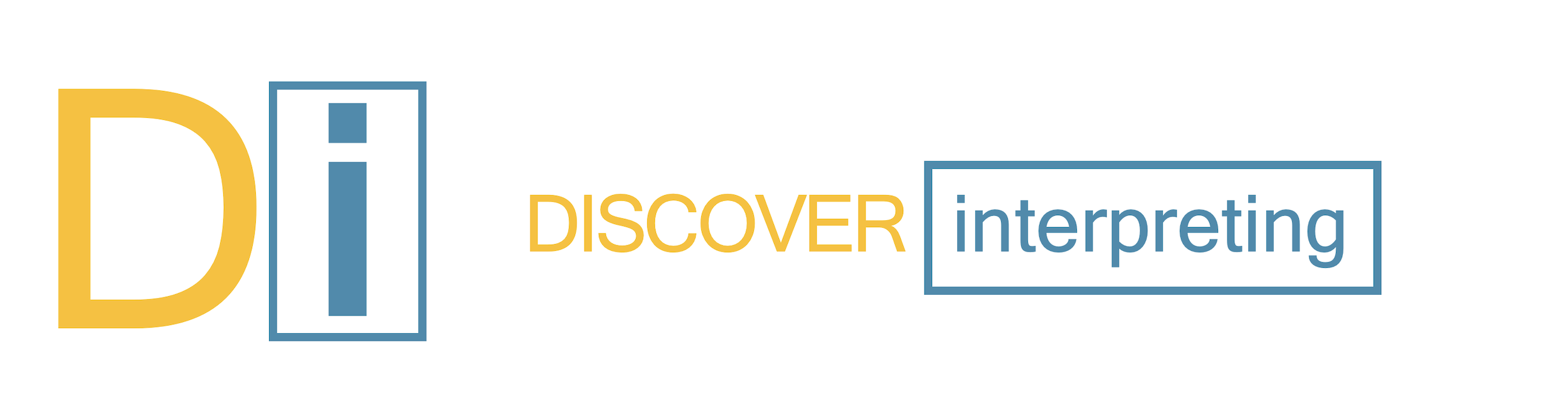 Discover Interpreting Logo